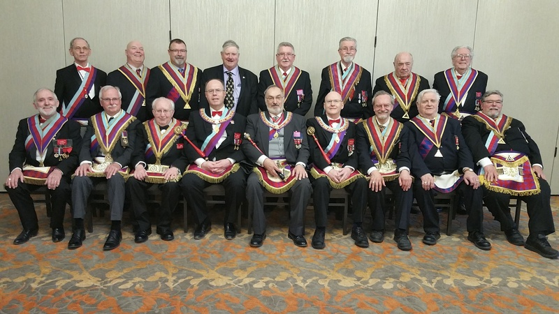 Royal Arch Masonry in Manitoba - Grand Officers